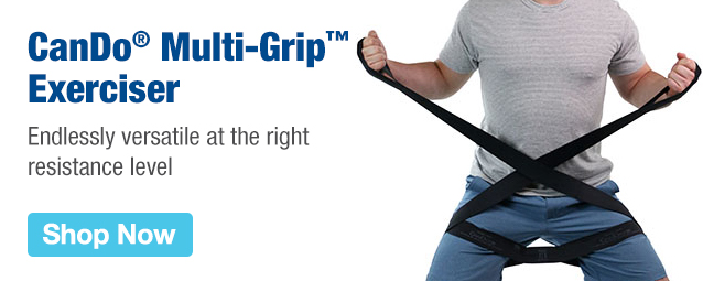 Half Page Ad – CanDo Multi-Grip Exerciser – Click to View Page