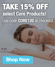 Quarter Page Ad – Take 15% Off Select Core Products Code with CORE120 – Click to View Page