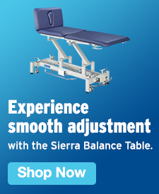 Quarter Page Ad – Experience the Stonehaven Medical Sierra Balance Table – Click to View Page