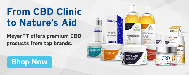 Half Page Ad – Shop CBD Products from MeyerPT – Click to View Page