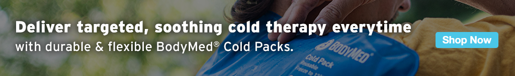 Full Page Ad – Deliver Soothing Cold Therapy with BodyMed® Cold Packs – Click to View Page