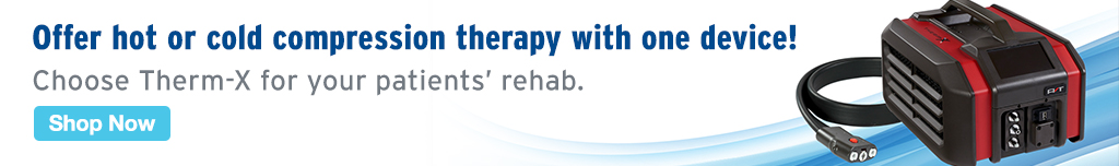 Full Page Ad – Offer Hot or Cold Compression Therapy with Therm-X – Click to View Page
