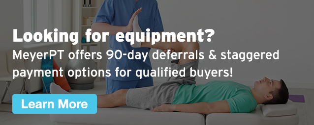 Half Page Ad – 90-Day Deferrals & Staggered Payment Options on Equipment at MeyerPT – Click to View Page