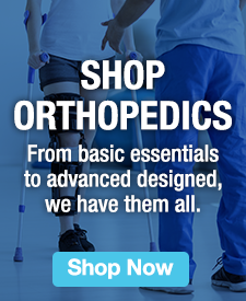 Quarter Page Ad – Shop our full range of orthopedic goods – Click to view page