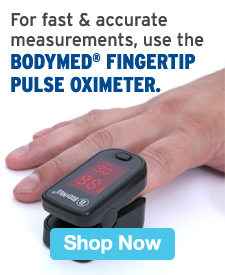 Quarter Page Ad – Use the BodyMed® Fingertip Pulse Oximeter for Fast & Accurate Measurements – Click to View Page