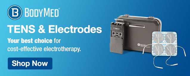 Half Page Ad – BodyMed TENS Units and Electrodes – Click to view page