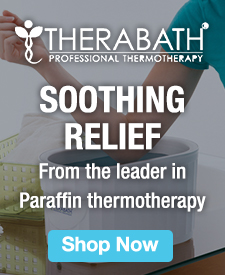 Quarter Page Ad – Therabath Paraffin Thermotherapy Products – Click to view page