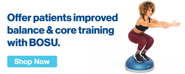 Half Page Ad – Offer Improved Balance & Core Training with BOSU – Click to View Page