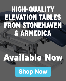 Quarter Page Ad – High-Quality Elevation Tables from Stonehaven & Armedica Available Now – Click to View Page