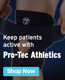 Quarter Page Ad – Keep Patients Active with Pro-Tec Athletics – Click to View Page