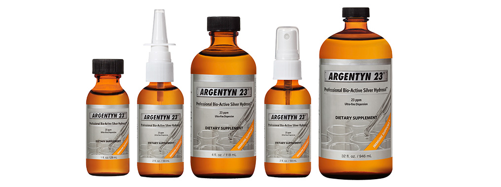 Argentyn23 Product Lineup