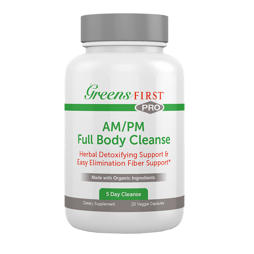 Greens First® PRO - AM/PM Full Body Cleanse - Click to Shop