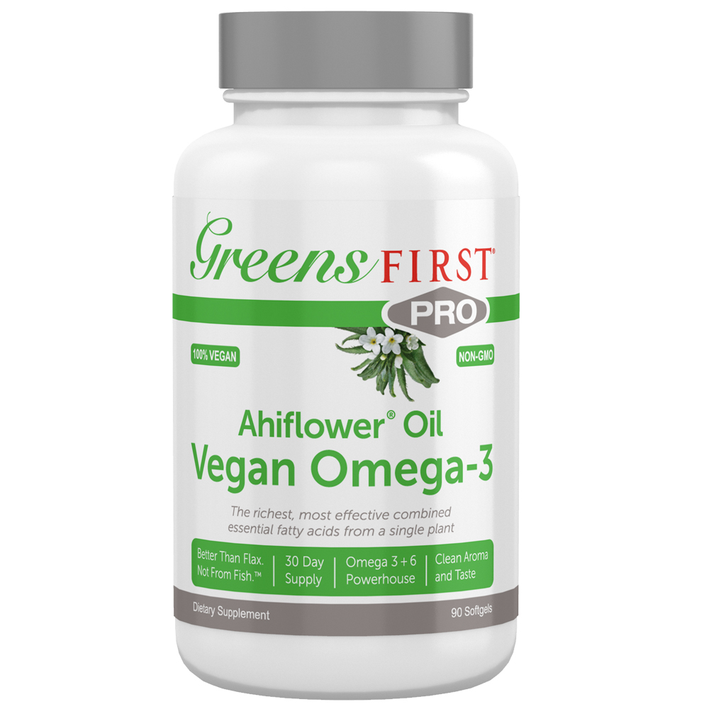Greens First Greens First PRO Ahiflower Oil Vegan Omega-3