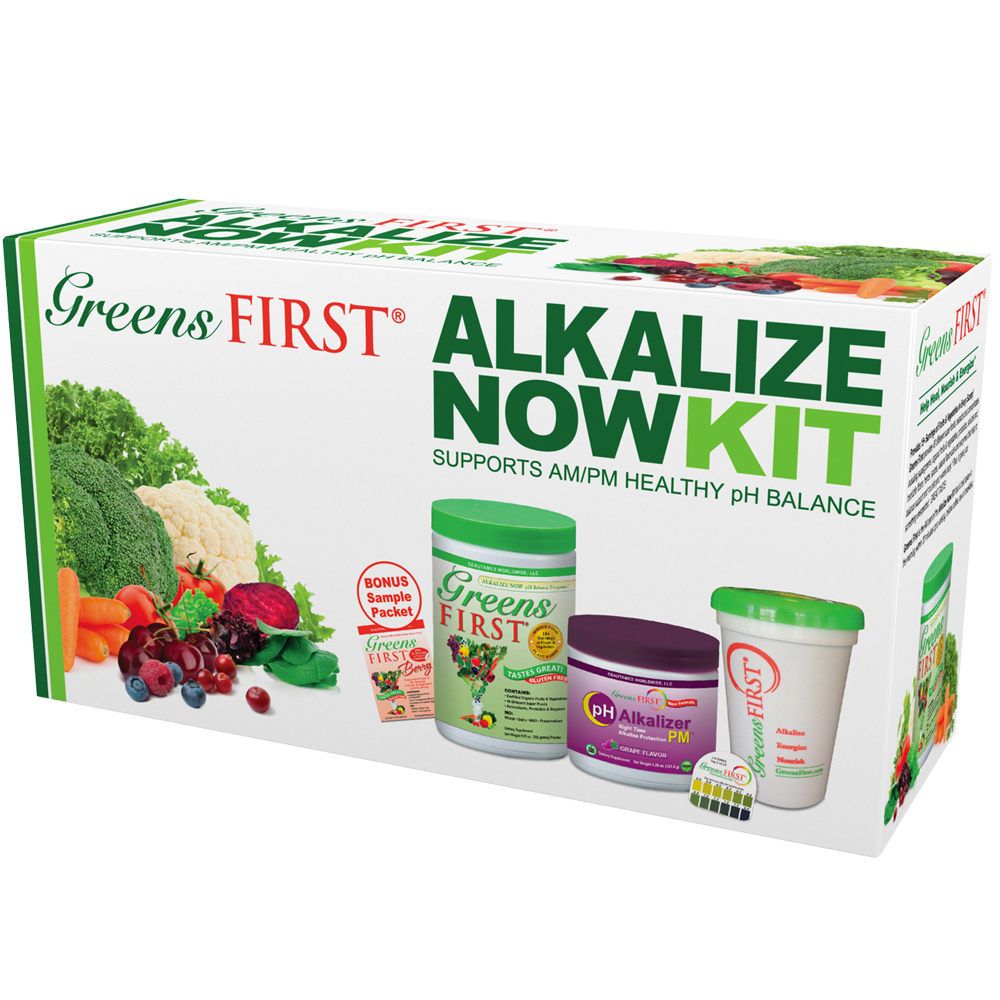Greens First Alkalize Now Kit