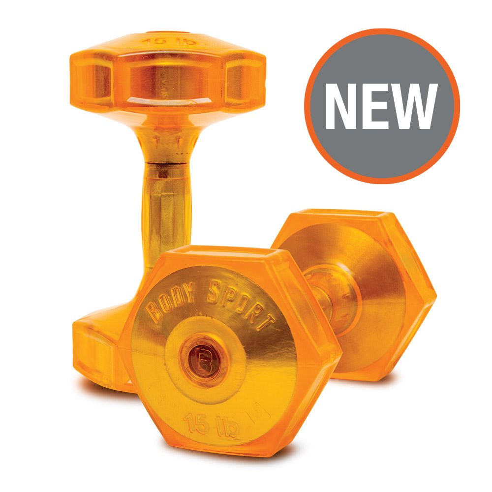 Body Sport Jellz™ Urethane Covered Dumbbells