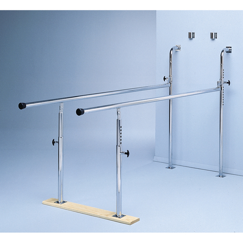 Wall Mounted Folding Parallel Bars & More at Meyer Physical Therapy