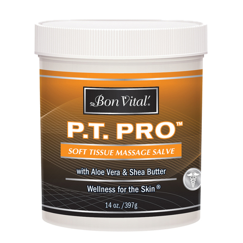P.T. Pro Soft Tissue Massage Salve & More at Meyer Physical Therapy