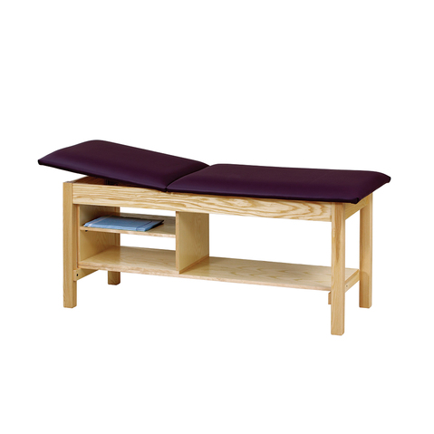Classic Straight Line Treatment Table with Storage Compartment & More at Meyer Physical Therapy