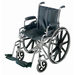 Standard Wheelchair with Removable Arms