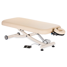 Ellora Electric Lift Massage Table with Easy-To-Use Foot Pedal & More at Meyer Physical Therapy