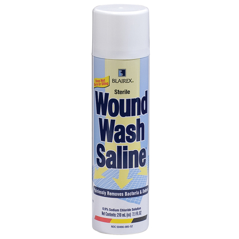 Wound Wash Saline Spray & More at Meyer Physical Therapy