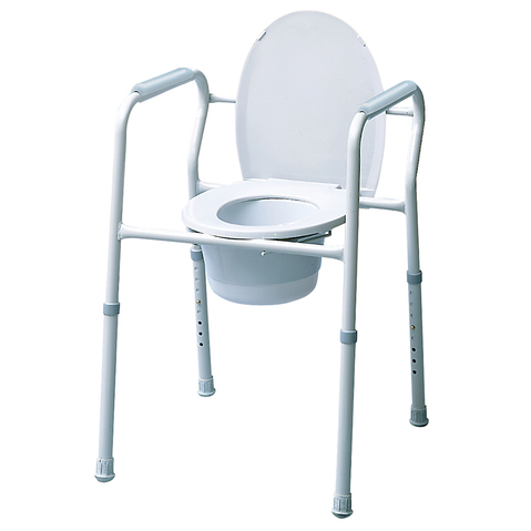 Bedside 3-In-1 Steel Commode & More at Meyer Physical Therapy