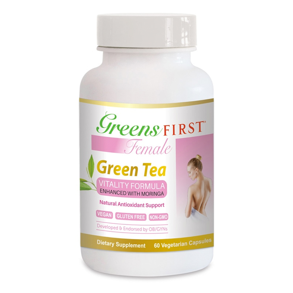Greens First Female Green Tea Vitality Formula- Click to Shop