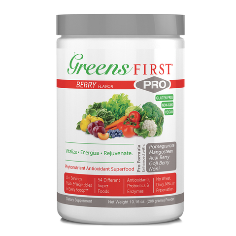 Greens First Pro Powdered Supplements