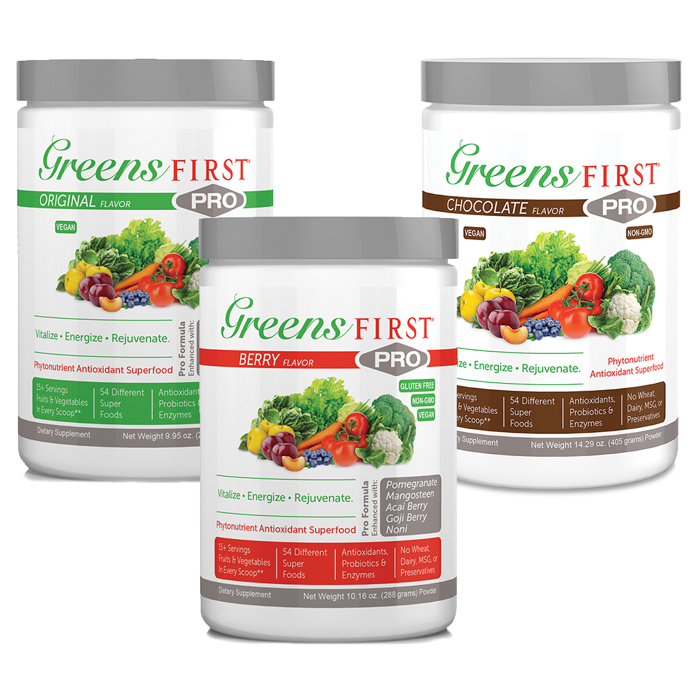 Greens First Greens First PRO Powdered Supplements