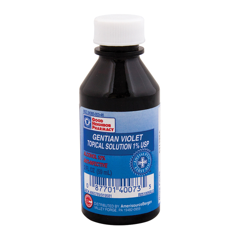 Gentian Violet Antiseptic Topical Solution & More at Meyer Physical Therapy