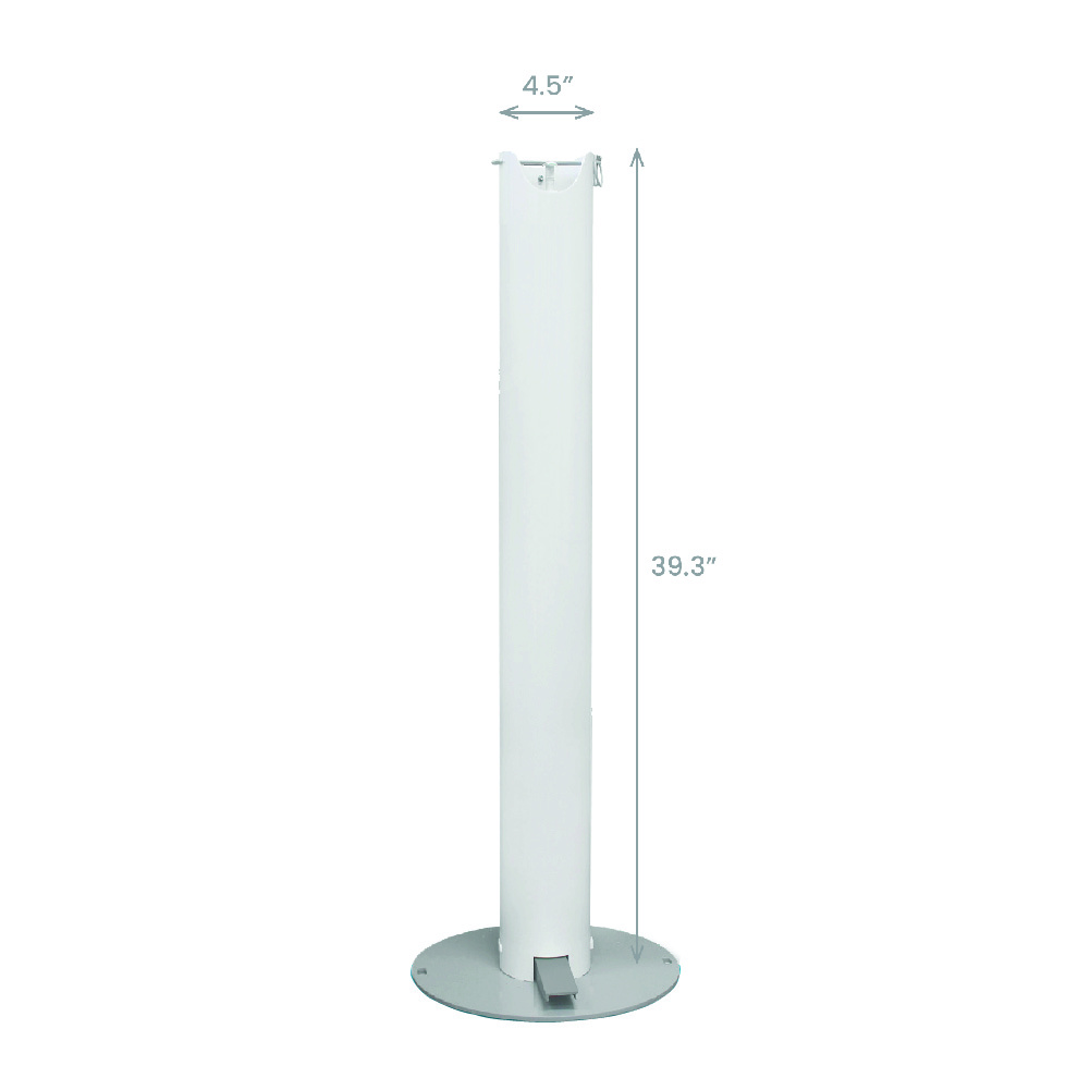 Cleaning Supplies - Shield Pedal Activated Hand Sanitizer Stand- Click to Shop
