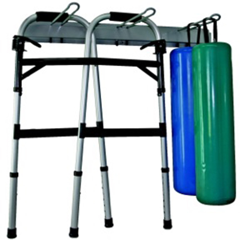 Crutch & Walker Wall Storage Rack & More at Meyer Physical Therapy