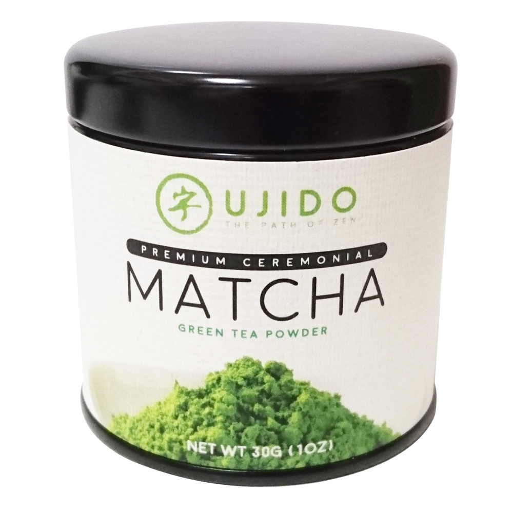 Ujido Premium Ceremonial Matcha Green Tea Powder