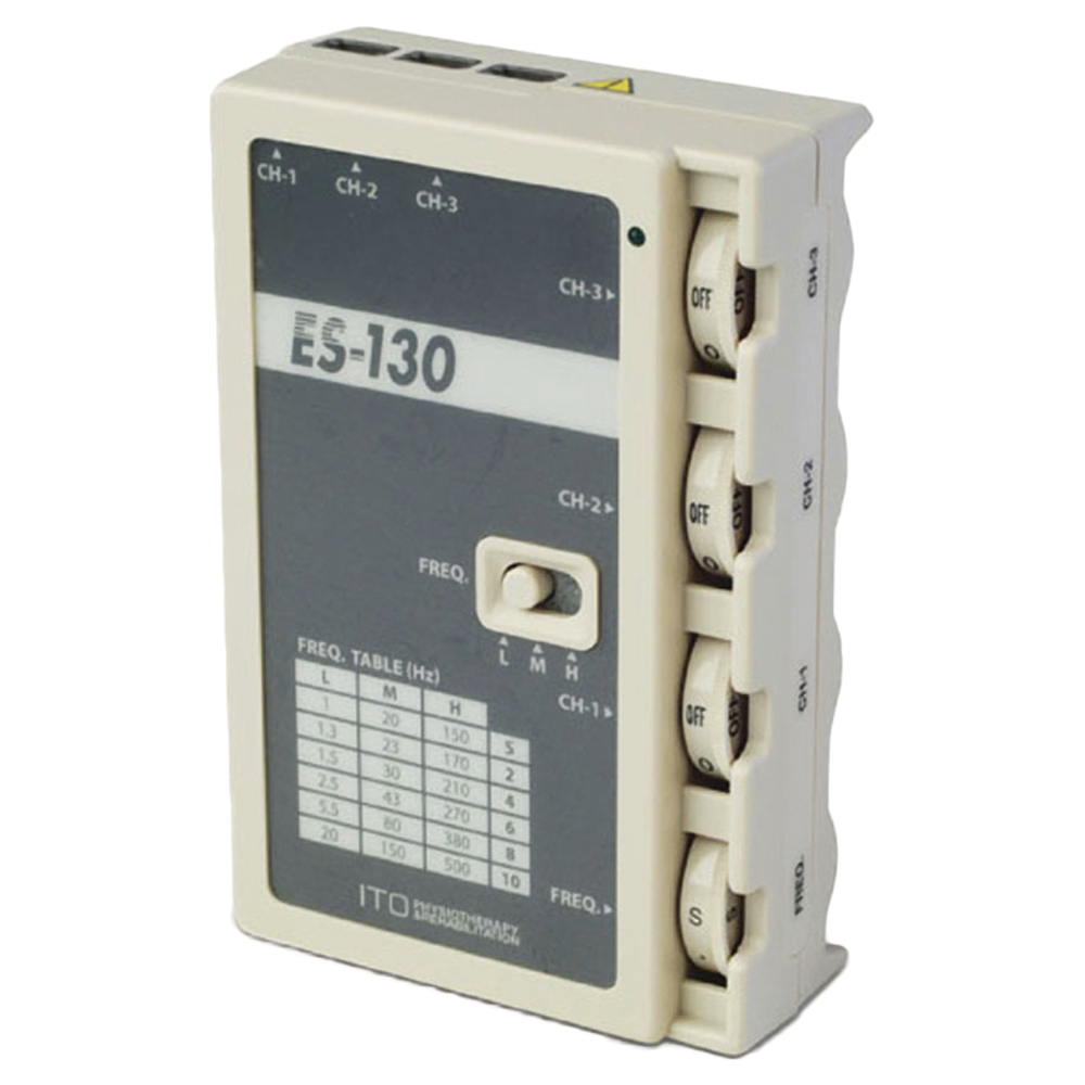 ITO® ES-130 3 Channel Electro Stimulation Unit
