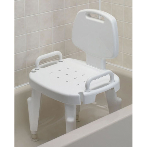 Shower Seat with Arms & Back (Retail) & More at Meyer Physical Therapy