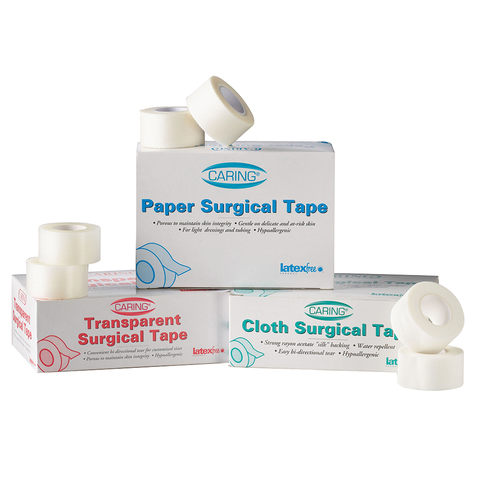 Caring Transparent Adhesive Tape & More at Meyer Physical Therapy