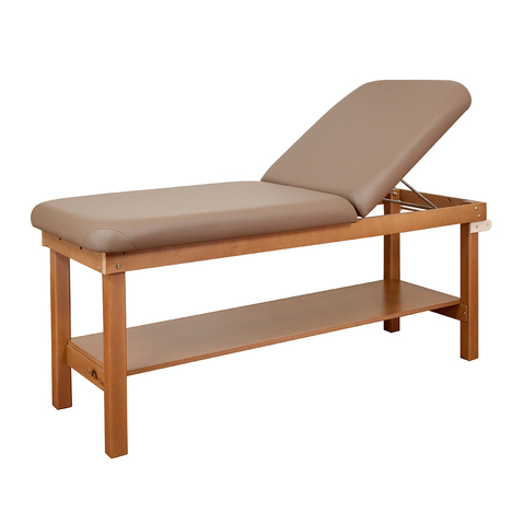 Powerline Table with Shelf & Backrest & More at Meyer Physical Therapy