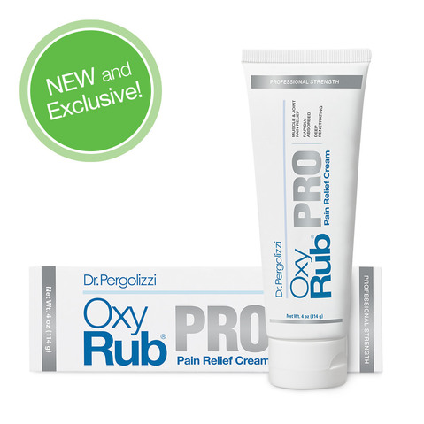 Healthy Directions OxyRub PRO Pain Relief Cream