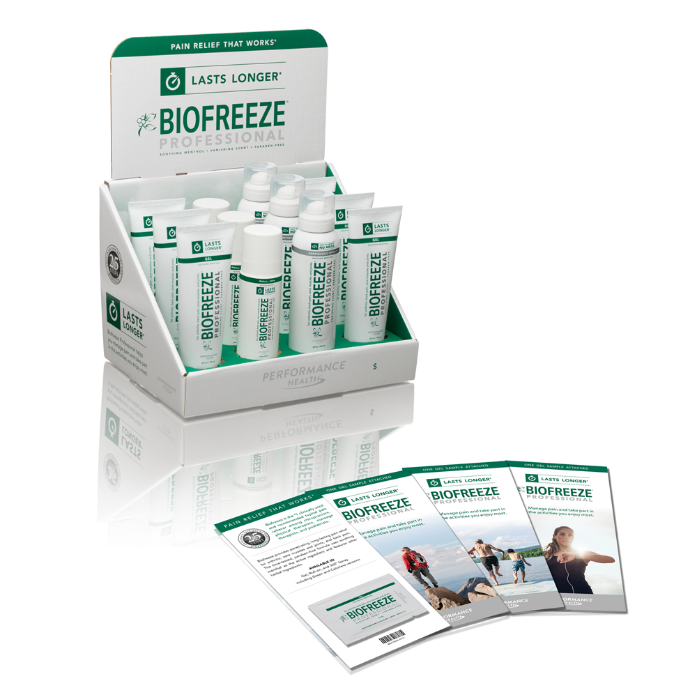 Biofreeze BIOFREEZE PROFESSIONAL Pain Reliever Starter Solution Kit