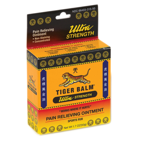 Tiger Balm Sports Ultra Pain Relieving Ointment & More at Meyer Physical Therapy