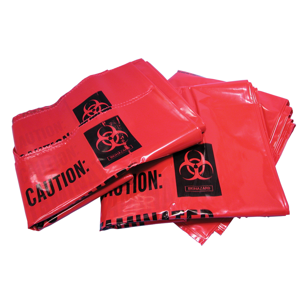 Bound Tree 4-Gallon Biohazard Bags