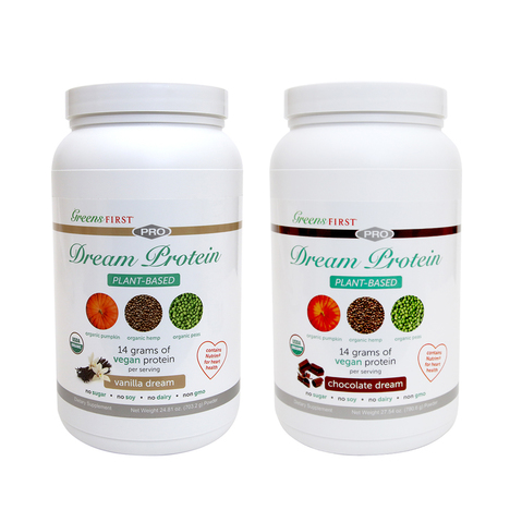 Greens First Dream Protein Plant-Based