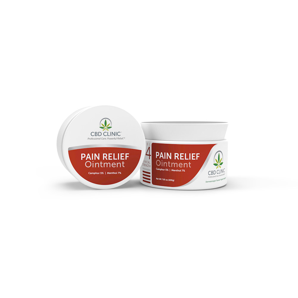 CBD Clinic Level 4 - Deep Muscle & Joint Pain Relief - Click to Shop