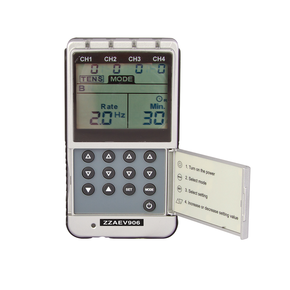 Product Image - BodyMed Digital 4-Channel TENS and EMS Unit - Click to Shop