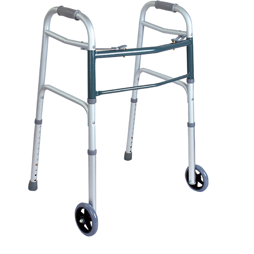 Product Image - BodyMed Two-Button Folding Walker - Click to Shop